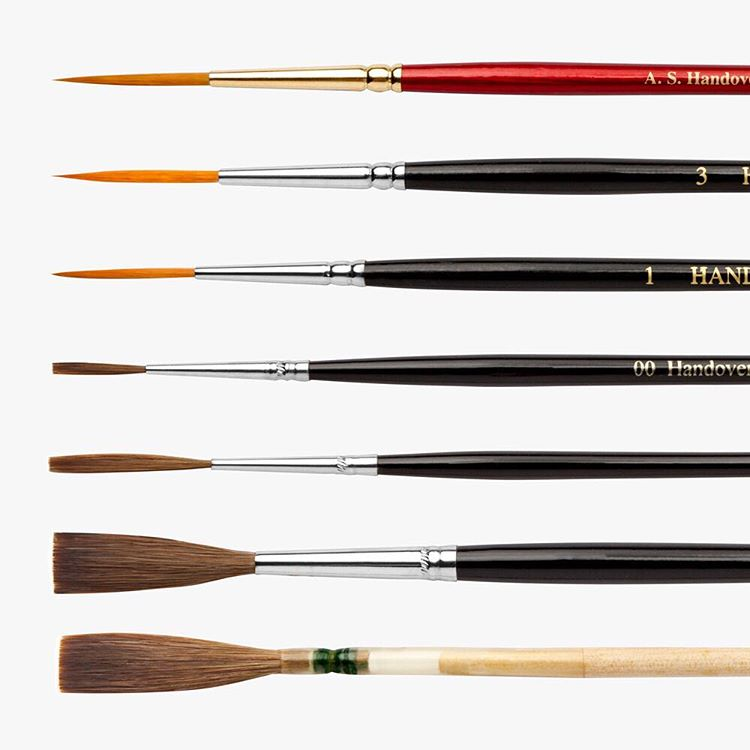 New! 7 Piece Lettering Brush Set! This seven piece sethellip