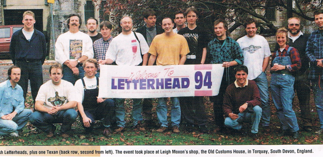 British Letterheads feature in Sign Business Magazine, March 1995