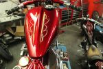 One day pinstriping course with Tino Blasco on the 29th April.