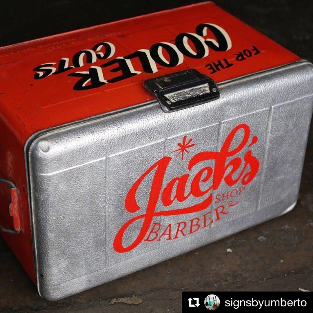 Were loving this old school style cooler from signsbyumberto! reposthellip