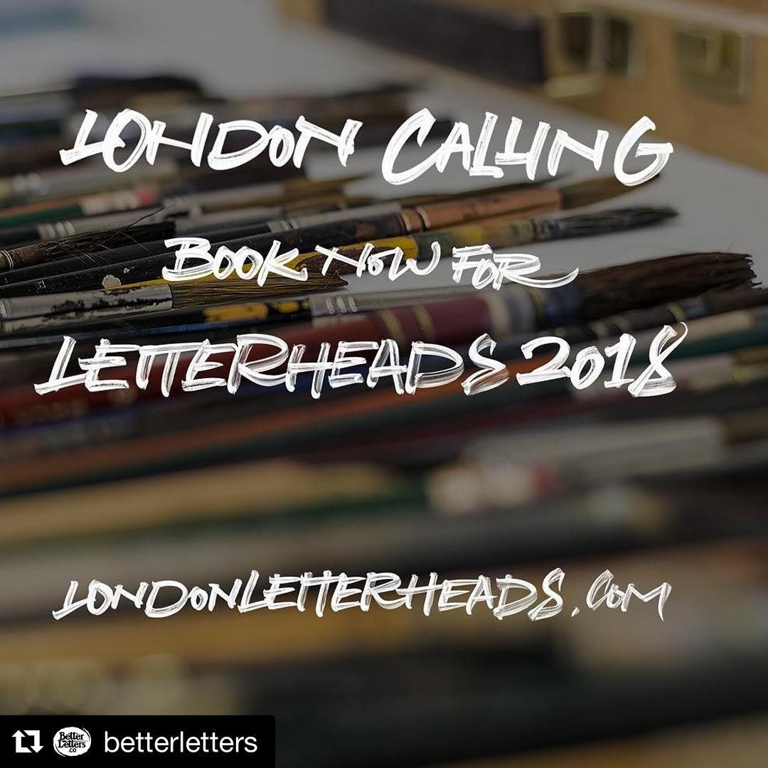 Dont miss your chance to attend next years Letterheads inhellip